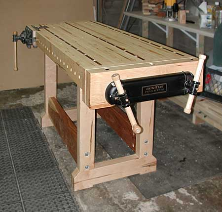 my woodworking bench the bench